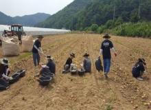[문경]하계방학을 맞아 1,100여명 농작물 수확등 일손 거들어